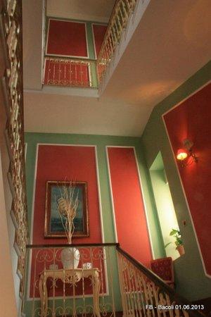 Villa Oteri: le suggestive scale