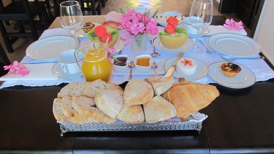 Herdade da Retorta: Breakfast table
