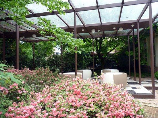 Le Notti in Villa: Breakfast patio