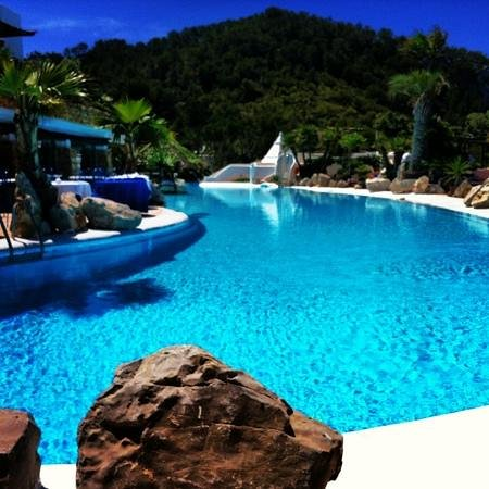 Hacienda Na Xamena: pool area
