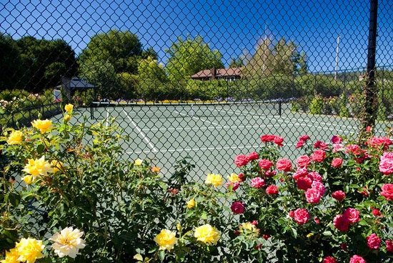 Honor Mansion, A Wine Country Resort: Tennis