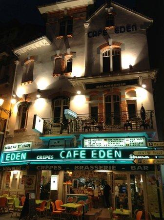 Bar Brasserie L'Eden : l'eden de nuit