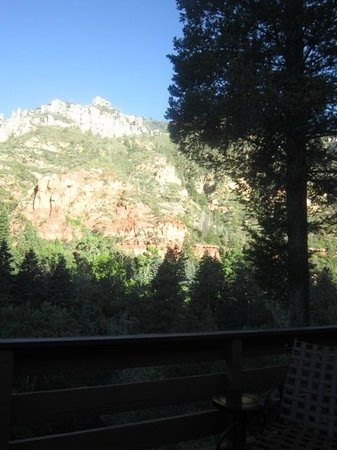 Junipine Resort: View from our deck - spectacular!