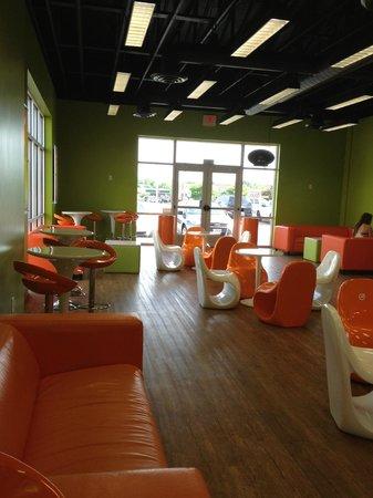 Orange Leaf decor