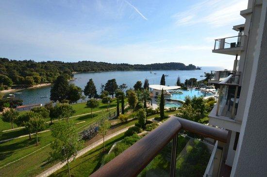 Hotel Monte Mulini: Balcony view