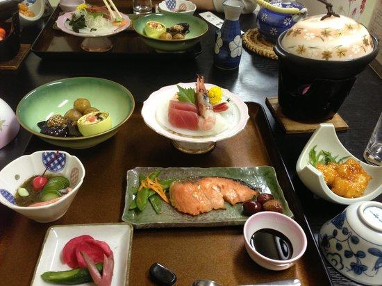 Oyado Yamakyu: Dinner at Yamakyu