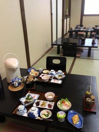 Oyado Yamakyu: Breakfast at Yamakyu