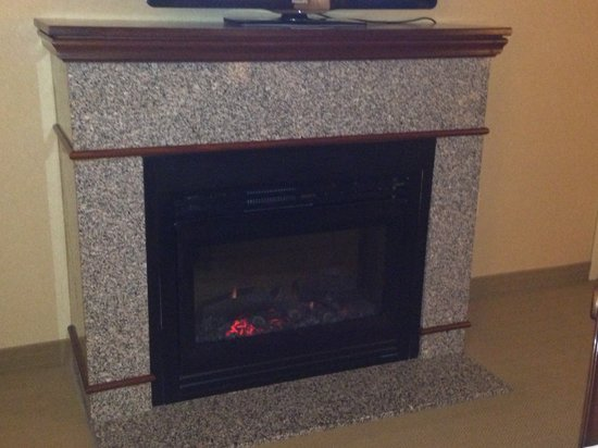 Sheraton Springfield at Monarch Place: The Fireplace