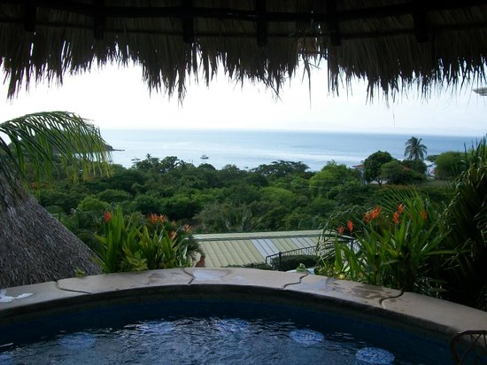 Barefoot Vacation Villas: view from spa