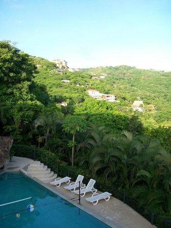 Barefoot Vacation Villas: view from villa