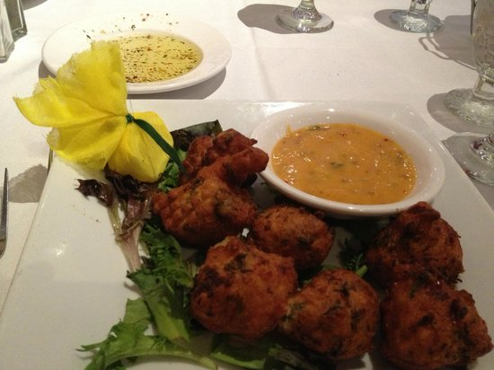 Yarmouth House : Lobster Fritters
