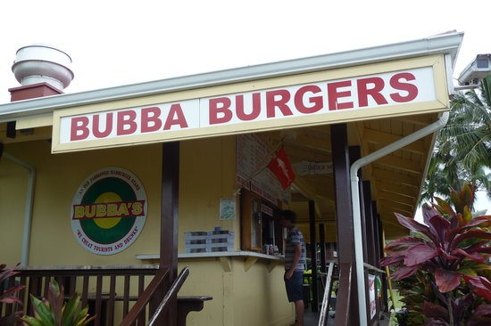 Bubba's: Step up and order