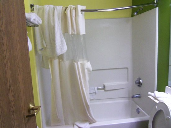 Microtel Inn & Suites by Wyndham Mason/Kings Island: Tub