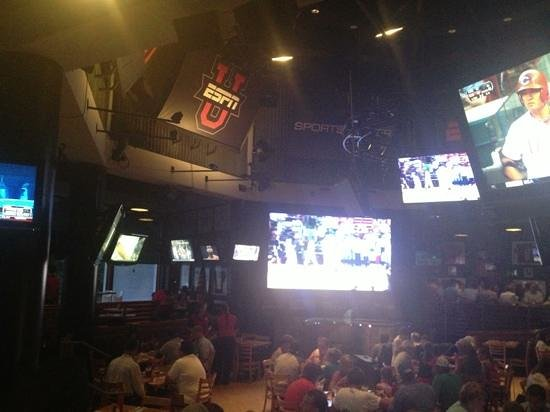 View into ESPN CLUB