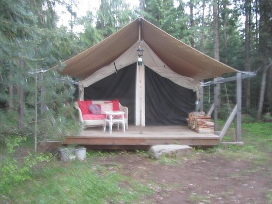 Huckleberry Tent and Breakfast North Idaho: Your home away from home