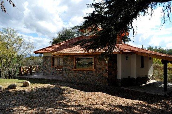 Aufenthalt: Cabaña la Valentia...con vista al cerro Champaqui!!