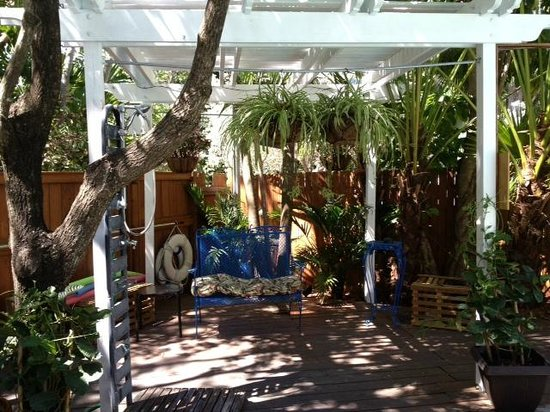 Key West Harbor Inn: relaxing space