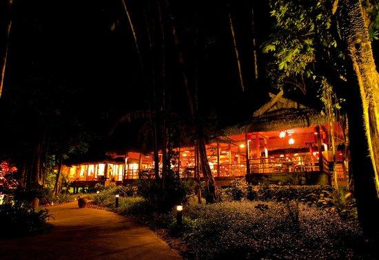 The Gulai House: Night View