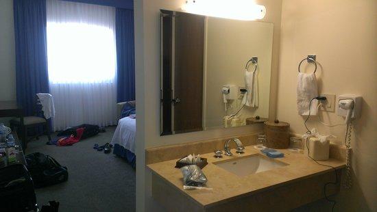 Hotel Aeropuerto Los Cabos: bathroom area