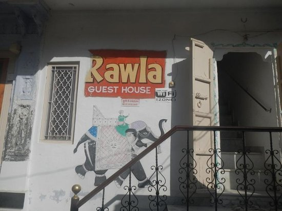 Rawla Palace Paying Guest House: 外観
