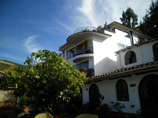 Encantada Casa Boutique Spa: Side view