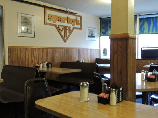Sparky's Cafe: Part of dining Room