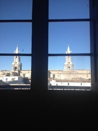Los Balcones de Moral y Santa Catalina : Vista desde el balcón