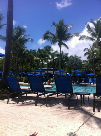 Wyndham Grand Rio Mar Beach Resort & Spa: Wyndham Rio Mar poolside