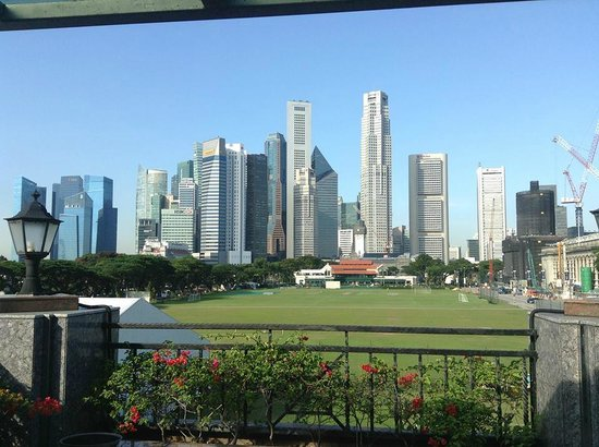 The Residence At Singapore Recreation Club: Lovely views