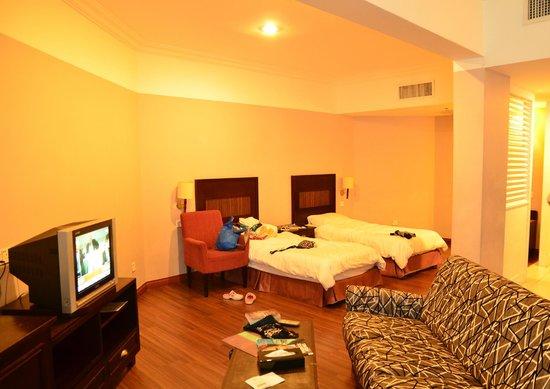 Grand Kampar Hotel: single beds