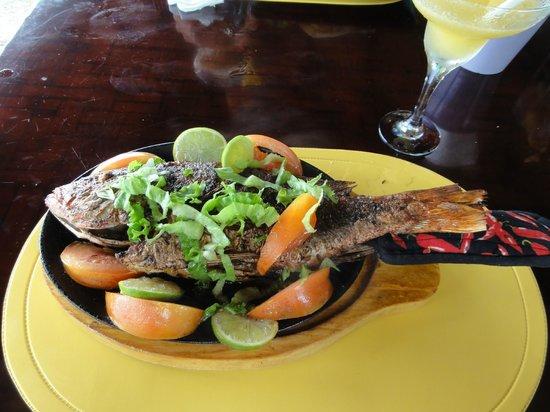Habaneros: Tender, flavorful, grilled fish