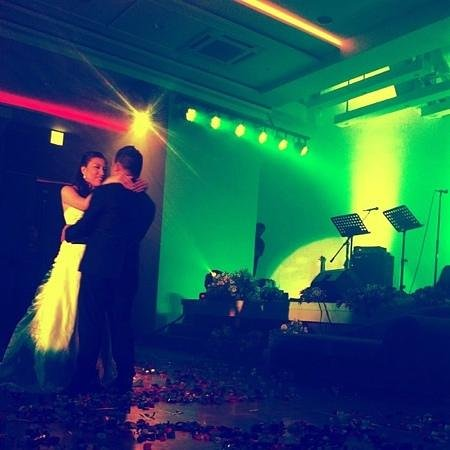 Widus Hotel and Casino: first dance