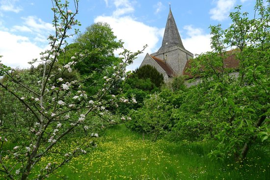 Alfriston Clergy House: View from the orchard