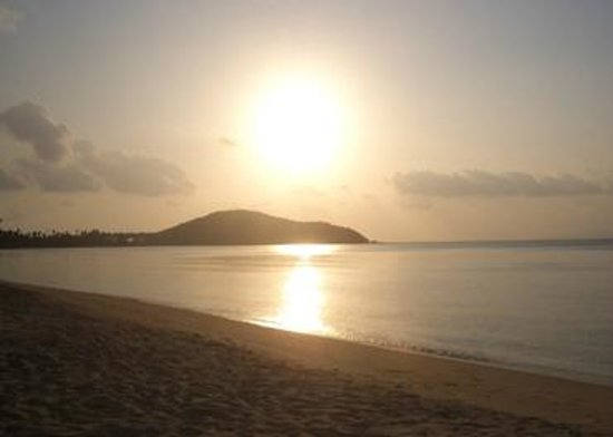 Kanok Buri Resort: sunset