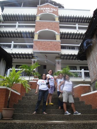 Boracay Residences: the sisterhood and friends and daughters!