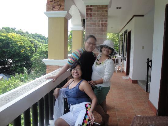 Boracay Residences: photo ops at the veranda....