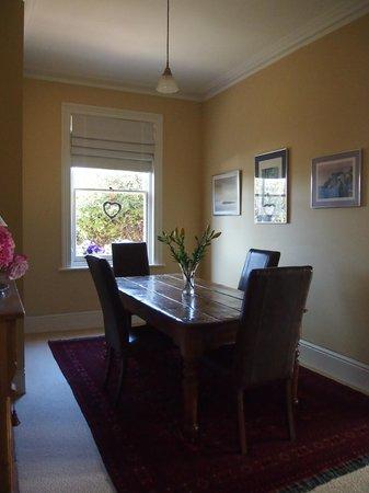 Bellerive House : breakfast room