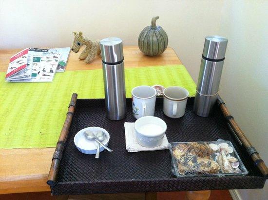 Casablanca: Morning coffee before breakfast