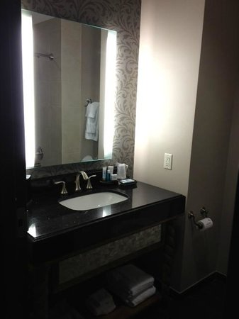 Bathroom Vanity Picture Of Wyndham Grand Orlando Resort Bonnet Creek Orlando Tripadvisor
