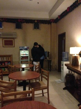 Holiday Park Hotel: coffee lounge
