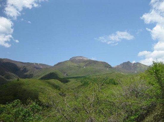 Nasu Highlands : 那須高原展望台より茶臼岳