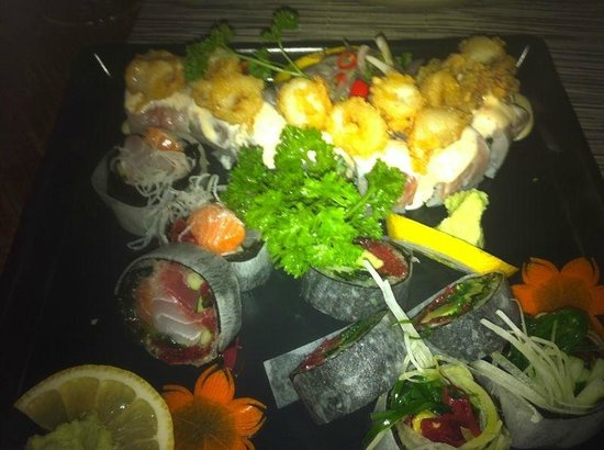 Above Eleven: Best sushi in Bangkok