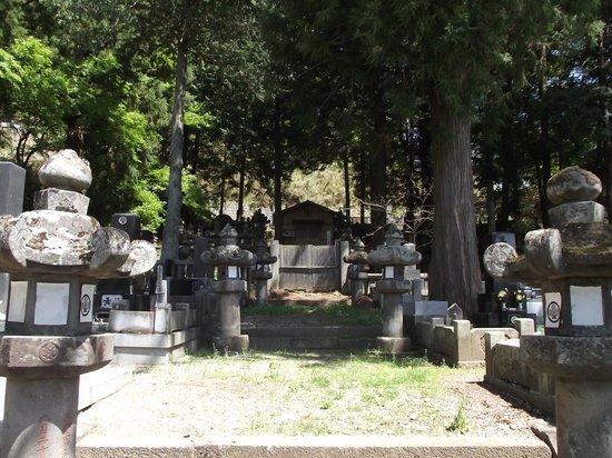 Onsenji Temple: 高島藩主廟所