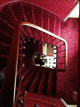 Manoir de Beauregard: Staircase