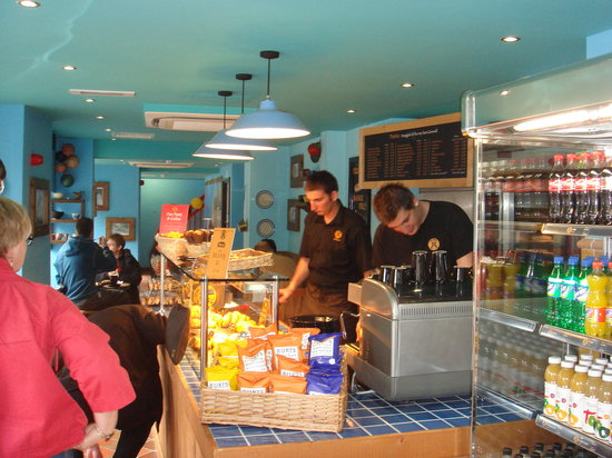 West Cornwall Pasty Co.: Inside view