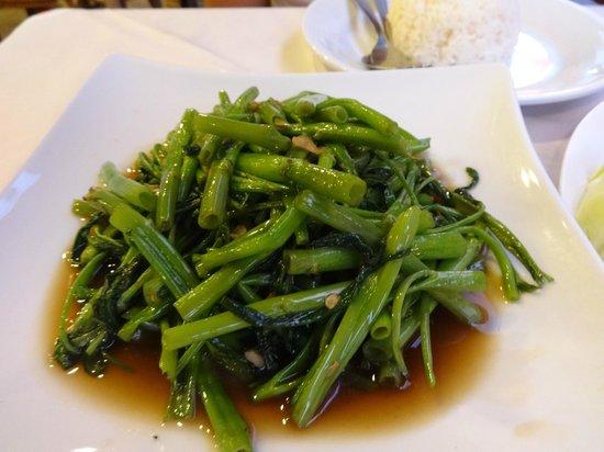 Khaosan Restaurant: morning glory
