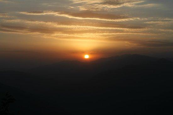 Banjara Orchard Retreat: Sunset from Room