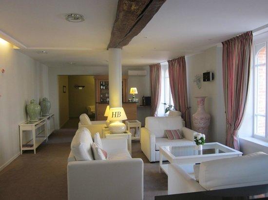 Hotel Burgevin : Bar de l'hôtel Burgevin