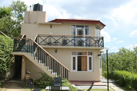 Banjara Camps - Thanedar: View of Apple Room upstairs