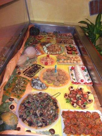 Ristorabile Anteros: il nostro ricco buffet